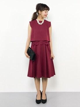 9aa2457a90a35 PourVous(プールヴー)のドレスを使ったコーディネート一覧 - WEAR
