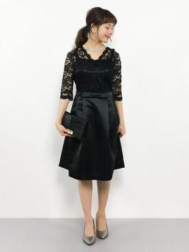 acb10ef657ba4 MARLENE JOBERT(マルレーヌ ジョベル)のドレスを使ったコーディネート一覧 - WEAR