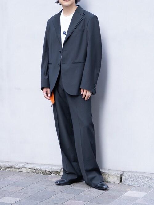 心さんの「Double lapel 3B tailored jacket(YohKi)」を使ったコーディネート