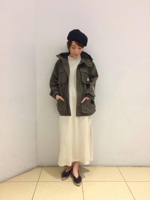 BEAVER新宿店 トキさんのハンチング/ベレー帽「B1-MLT BERET(BEAVER|ビーバー)」を使ったコーディネート