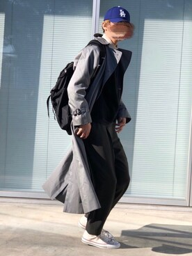 "チャッピー is wearing CONVERSE ""<CONVERSE> ALL STAR J HI/スニーカー"""