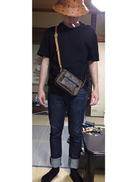 fbdcabd374ec LOUIS VUITTON(ルイヴィトン)のバッグを使ったメンズコーディネート一覧(年齢:25歳~29歳) - WEAR