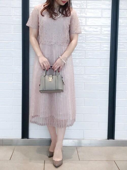 結婚式服装親族女性