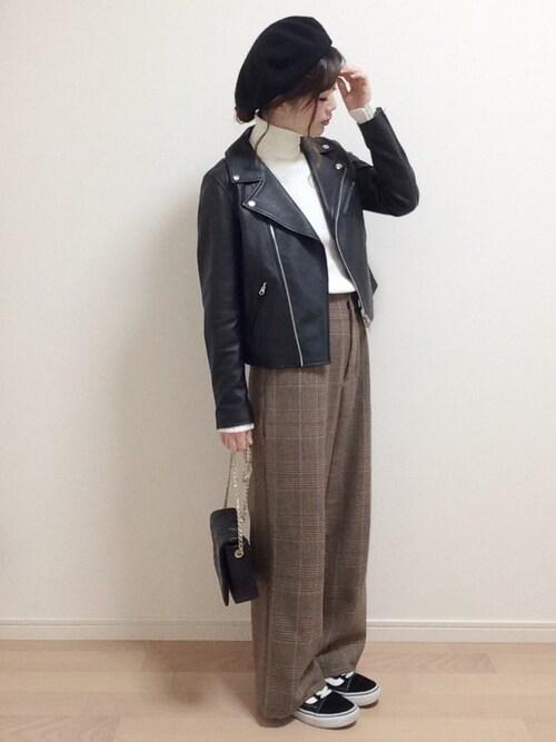 mAy☆uMeさんの「ビーミング by ビームス / バスクベレー帽 17AW(B:MING by BEAMS)」を使ったコーディネート