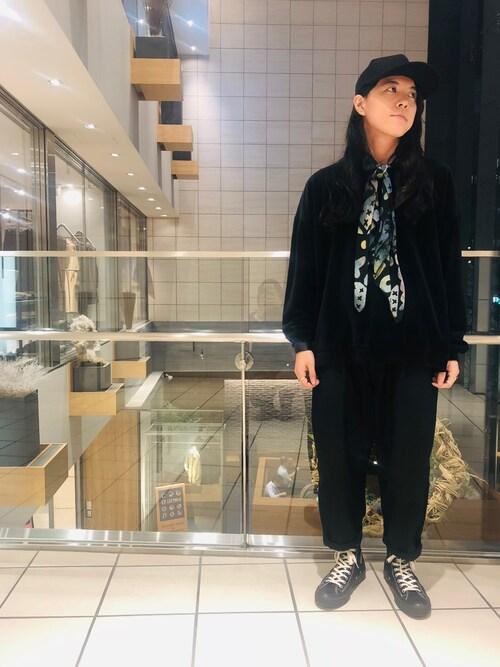 Johnbull Private labo梅田jumpeiさんのTシャツ/カットソー「ティーシーパイルロングスリーブティー(Johnbull|ジョンブル)」を使ったコーディネート