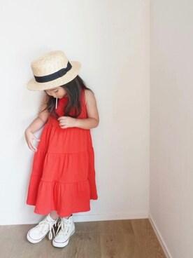 f516c0ba576e2 inuさんの「カンカン帽(KIDS)(URBAN RESEARCH DOORS|アーバンリサーチ