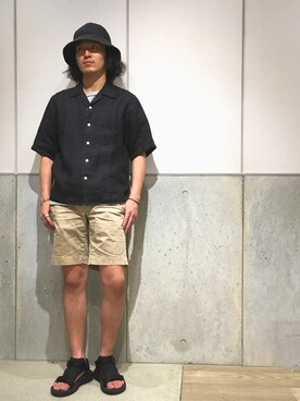 0f16da09afd shimo is wearing JOURNAL STANDARD. 2017.6 15. Teva Sandals
