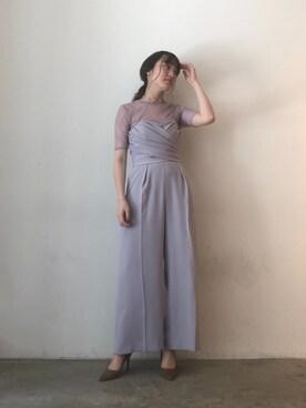 a2937a3bb9aa5 ドレス(パープル系)を使ったコーディネート一覧 - WEAR