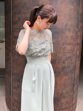 ドレス(グリーン・カーキ/緑色系)コーディネート , ZOZOTOWN