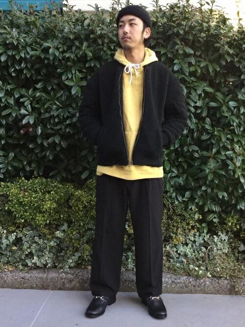 RYOさんの「◇フリースボアMA-1 ジャケット(417 EDIFICE)」を使ったコーディネート