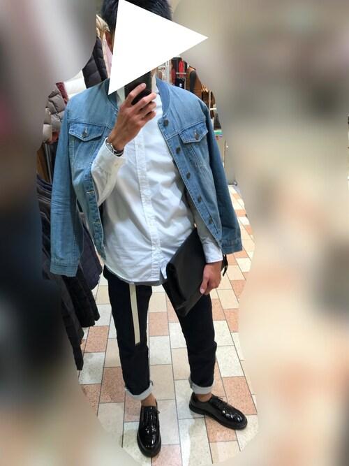 わたさんさんのシャツ/ブラウス「PINPOINT OX STANDARD SHIRTS:ピンオックス スタンダードシャツ(Magine|マージン)」を使ったコーディネート