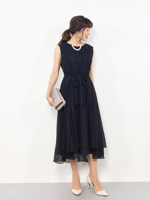 50代女性結婚式服装