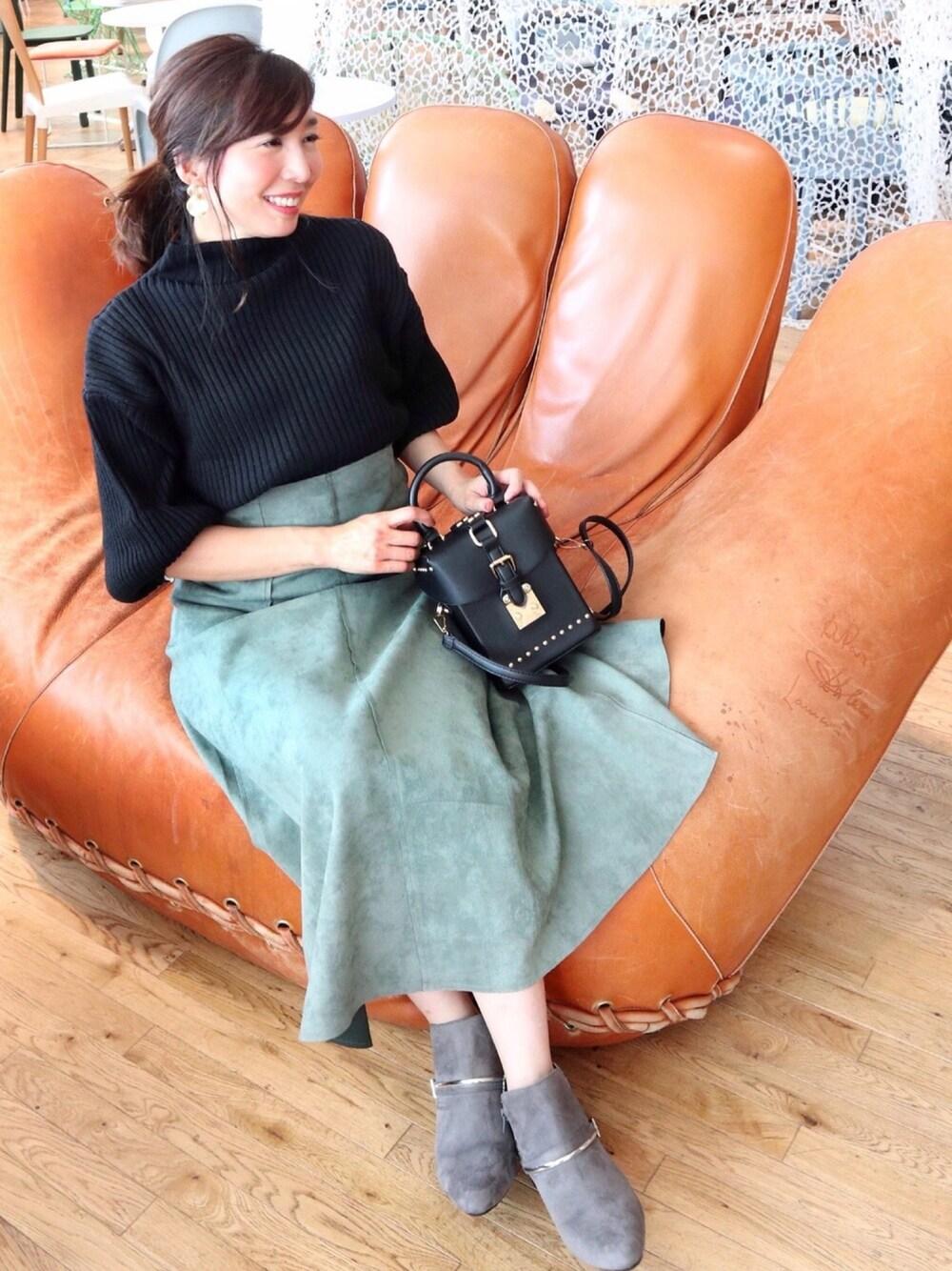 ピエロ キレイめカジュアル 30代 母親 ファッション