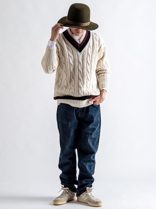 CIAO PANIC COUNTRY MALLさんの(RICHMOND KNITWEAR)を使ったコーディネート