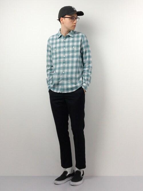緑色のネルシャツ大特集