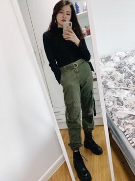Topshop AUSTIN Black Leather Lace Up