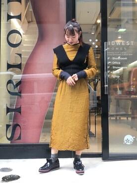 4906a2821ed4f MIDWEST TOKYO WOMEN Ⓜ︎ayuさんの「AKANE UTSUNOMIYA チェックワンピース(AKANE UTSUNOMIYA