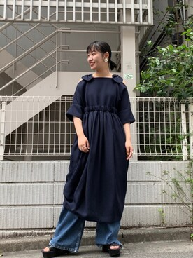 784b36c1bca85 MIDWEST TOKYO WOMEN Ⓜ︎ayuさんの「TARO HORIUCHI オフショルダーワンピース(TARO