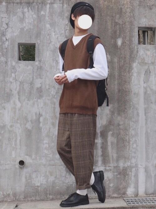 DAISUKE.さんの「【KANGOL】Wool 504 / 【カンゴール】ウール 504(KANGOL)」を使ったコーディネート