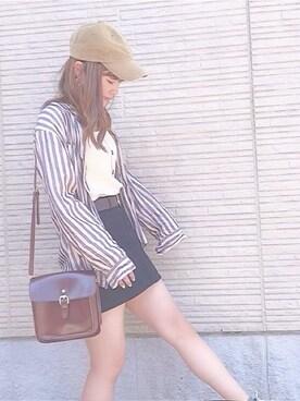 22b50fa4e7bca キャップを使った「韓国ファッション」のレディースコーディネート一覧 - WEAR