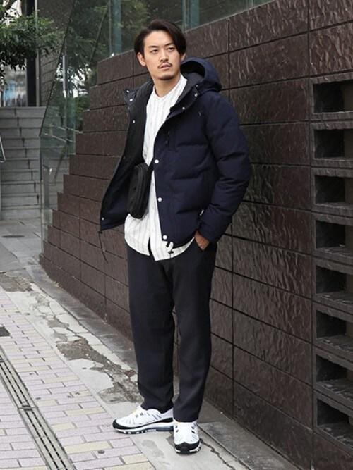 JOURNAL STANDARD 渋谷店松下和貴さんのダウンジャケット/コート「【LASKA】 850HT フードダウン #(JOURNAL STANDARD|ジャーナルスタンダード)」を使ったコーディネート