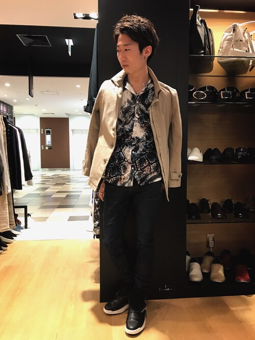 TORNADO MART 大丸梅田店Nakataさんのテーラードジャケット「Zero by TORNADO MART∴返し衿半ヒヨクジャケット(TORNADO MART|トルネードマート)」を使ったコーディネート