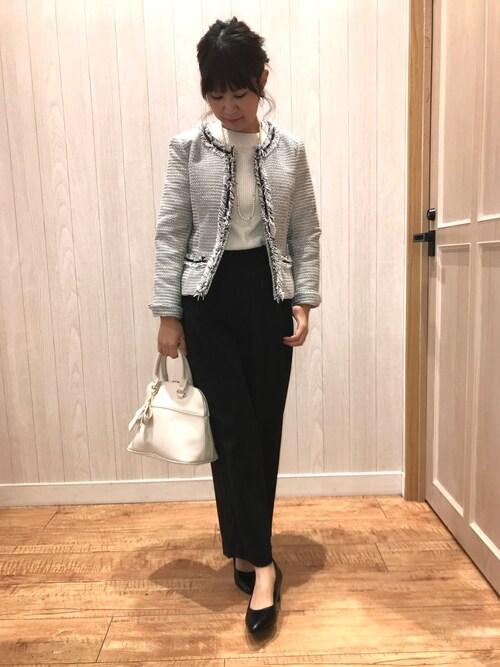卒園式母親服装