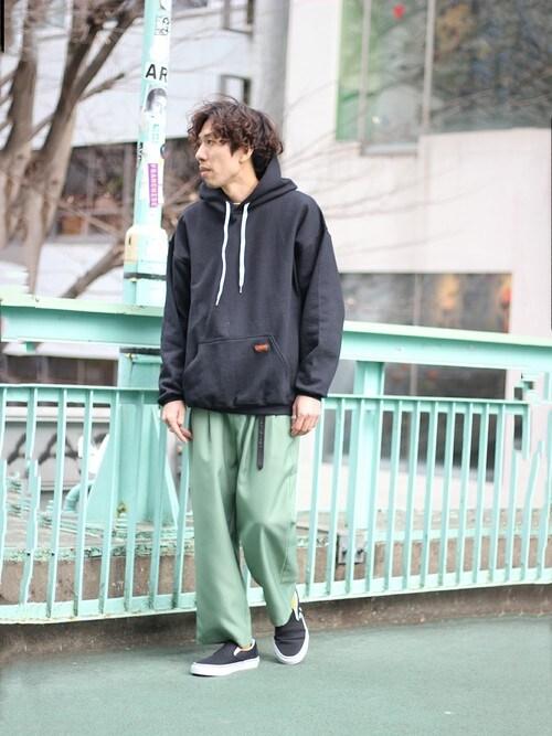 kyoheyさんの「◆KING KOLE×relume / 別注キングコール ツイルパンツ(JOURNAL STANDARD relume)」を使ったコーディネート