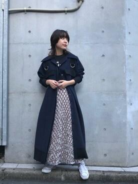 "5aab255f18512 MIDWEST TOKYO WOMEN mioさんの「AKANE UTSUNOMIYA ""WAIST BELT""ワンピース("