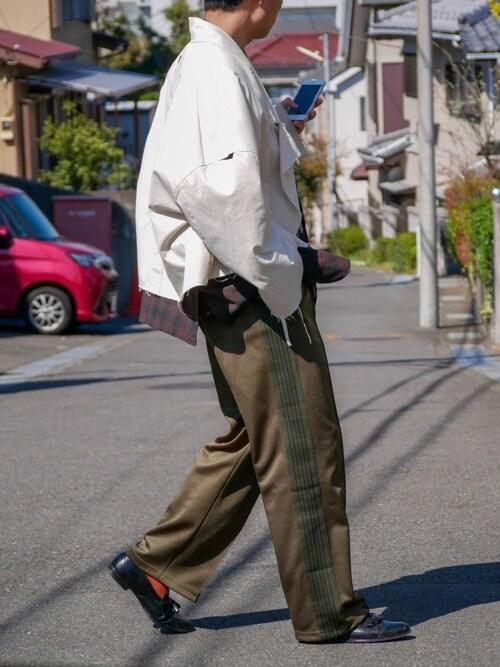 げんきさんの「【my beautiful landlet】 cotton dump tambler short coat(my beautiful landlet)」を使ったコーディネート