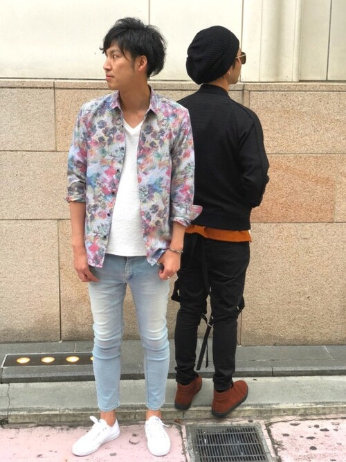 HIGH STREET 表参道店OHORIさんのシャツ/ブラウス「HIGH STREET∴TAIANAフラワーJQシャツ(HIGH STREET|ハイストリート)」を使ったコーディネート