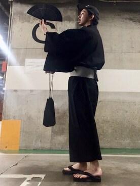 d9de4fe0250 MasaakiOoueさんの着物/浴衣「浴衣 メンズ 5点 セット【 浴衣+帯