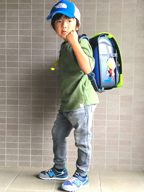 BEATJIVEネモネモさんのTシャツ/カットソー「◆【100-150cm】サーマルTシャツ(HusHusH|ハッシュアッシュ)」を使ったコーディネート