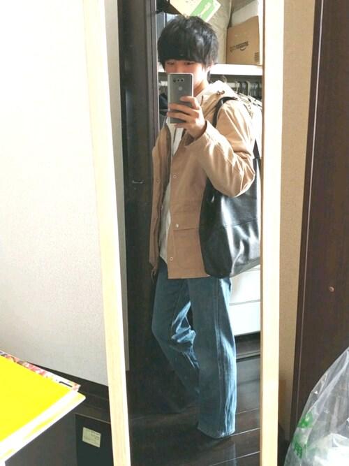 yuna(低身長)さんのマウンテンパーカー「3WAYボアライナー撥水マウンテンパーカー(classicalelf|クラシカルエルフ)」を使ったコーディネート