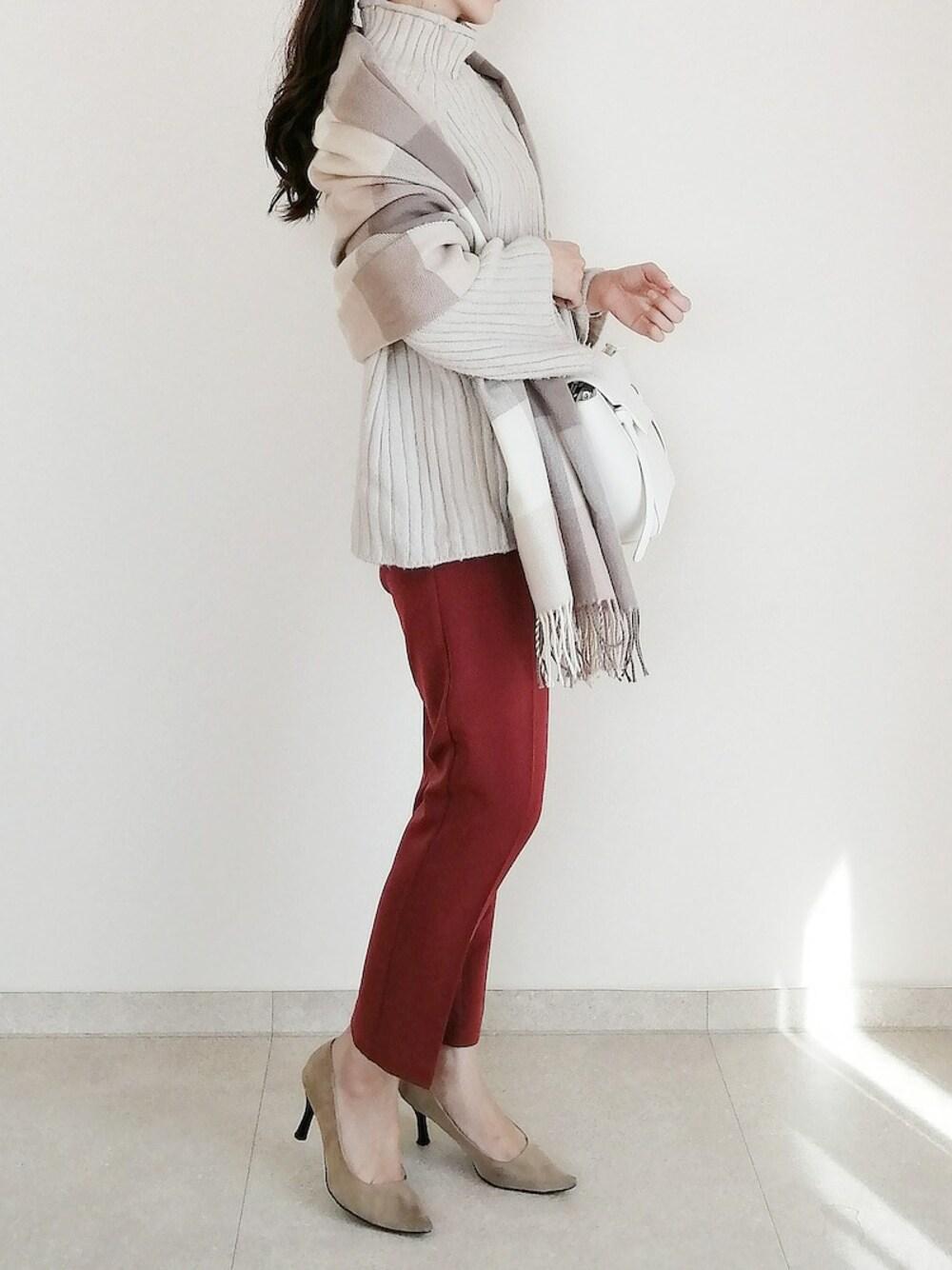 キレイめカジュアル 30代 母親 ピエロ