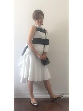 64f9f3c41cd99 jima tsumugiさんの「ドライタッチミラノリブマーメイドスカート(DRWCYS|ドロシーズ)」