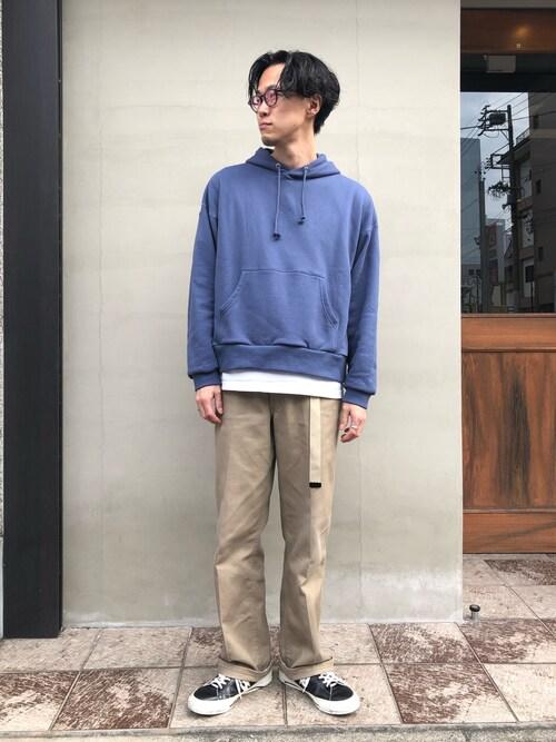 hirofumi inoue さんの「2018秋冬  hoodie(wonderland)」を使ったコーディネート