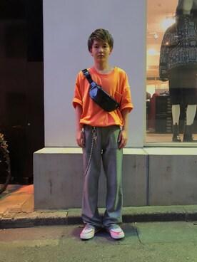 abb2e2c3f28ec MIDWEST TOKYO MEN YutoさんのTシャツ カットソー「□別注□ANREALAGE