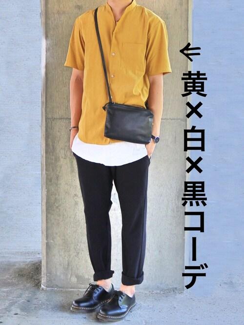 gakuさんのシャツ/ブラウス「※半袖 Vネック シャツ(ABAHOUSE|アバハウス)」を使ったコーディネート