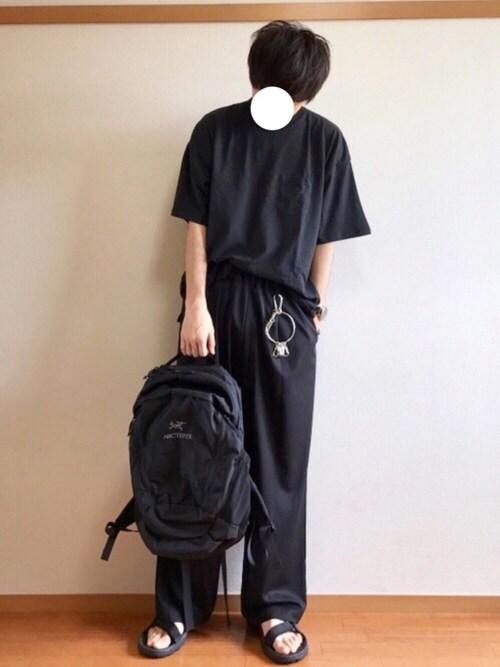 daiさんの「【再入荷!!】ビッグシルエットポケットTシャツ(SPINNS)」を使ったコーディネート