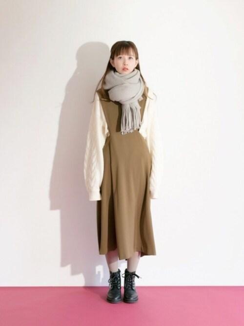 Hareko Kbf Kbf Kbfのニット セーターを使ったコーディネート Wear