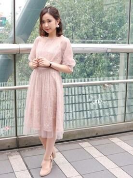 617688f652142 ドレスを使った「ピンクベージュ」のコーディネート一覧 - WEAR