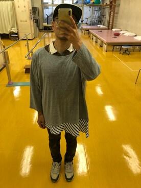 7511af12fd643 Kazさんの「2015春夏商品 asyme long sleeves t (AlexanderLeeChang|アレキサンダー