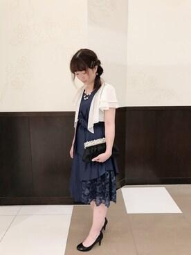 a1d833c0f7a01 ドレスを使った「ネイビーワンピース」のコーディネート一覧(ユーザー:ショップスタッフ) - WEAR