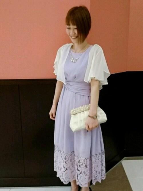 結婚式服装30代