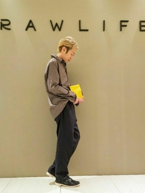 RAWLIFE GINZA SIX清原 勝さんの「( )」を使ったコーディネート
