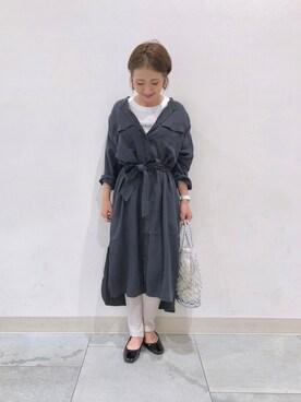 CIAOPANIC TYPY|NAOKO.sさんの「ボックスロゴ刺繍Tee(CIAOPANIC TYPY|チャオパニックティピー)」を使ったコーディネート
