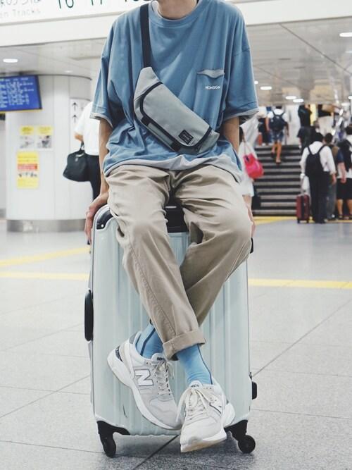 平(taira)さんのスニーカー「New Balance M7709CV LIMITED EDITION【SP】(New Balance ニューバランス)」を使ったコーディネート