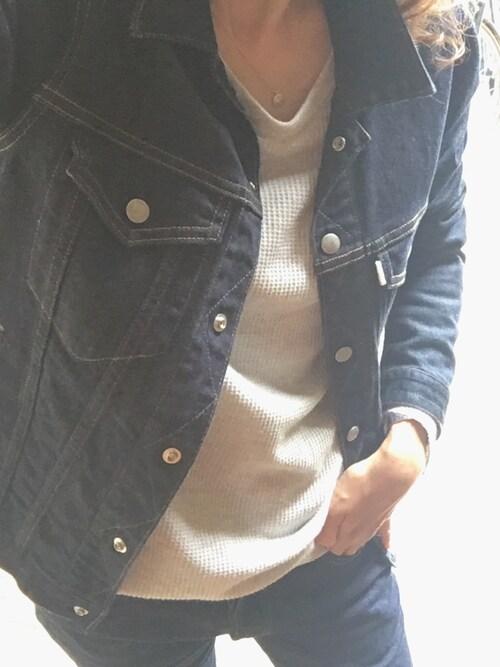 sandinistamikiさんのデニムジャケット「B.C. Stretch Denim Jacket / ストレッチデニムジャケット(Sandinista|サンディニスタ)」を使ったコーディネート