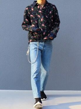 best sneakers 7e227 b275e ポロシャツを使った「zozoデニム」のメンズコーディネート一覧 ...